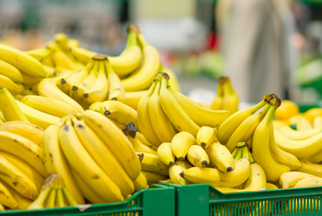 Bildquelle: Shutterstock. Bananen Kiste