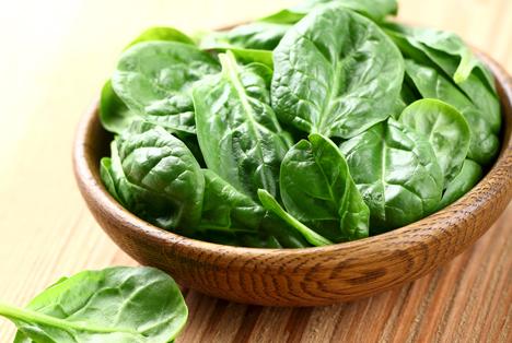 Bildquelle: Shutterstock.com Salat Spinat