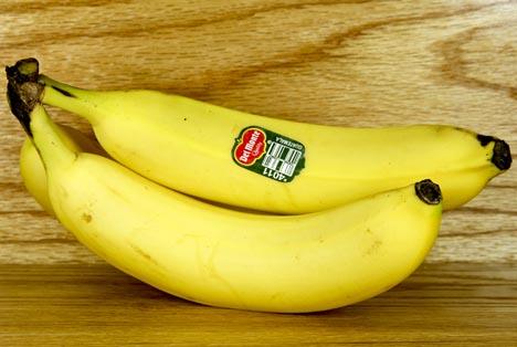 Quelle: dcwcreations / Shutterstock.com Del Monte bananen