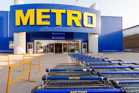Quelle: FotograFFF / Shutterstock.com  Metro Cash & Carry Samara Russia Store