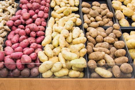 Bildquelle: Shutterstock. Kartoffelshop