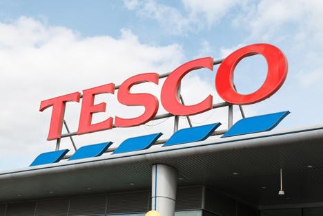 Quelle: Chris Warham / Shutterstock.com Tesco Coventry, UK Logo Tesco
