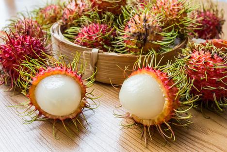 Bildquelle: Shutterstock.com Tropisch Rambutan