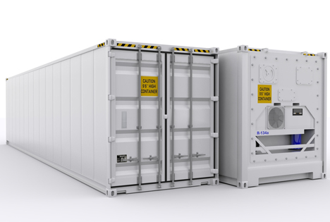 Bildquelle: Shutterstock.com Reefer Container