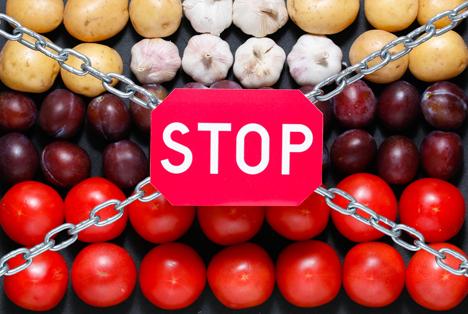 Bildquelle: Shutterstock.com Fruchthandel Russland Boykott