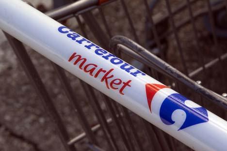 Quelle: JPstock / Shutterstock.com Carrefour Supermarktwagen