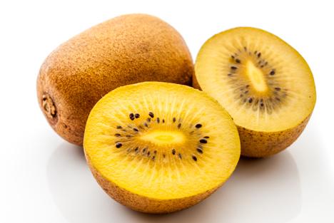 Dori – eine gelbe Kiwi-Sorte aus Chile