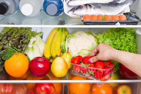 Bildquelle: Shutterstock. Kühlschrank Obst Gemüse