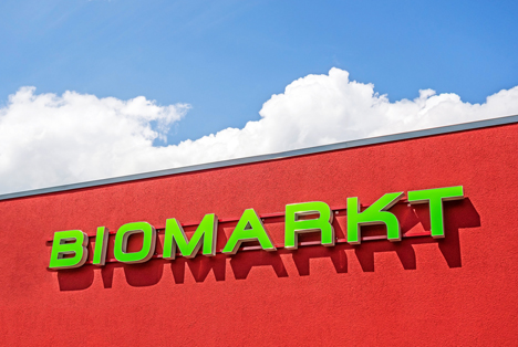 Quelle: aldorado / Shutterstock.com   Biomarkt logo Aussen Heidenheim an der Brenz