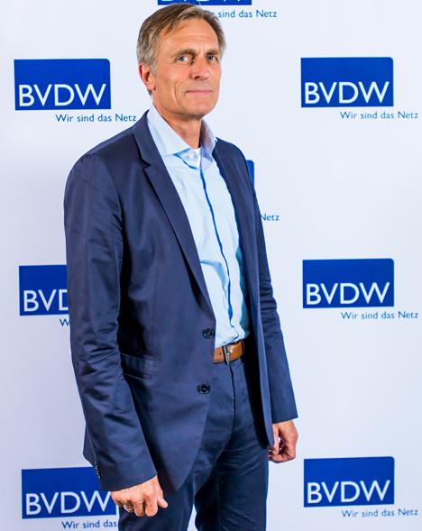 BVDW-Präsident Matthias Wahl Foto © Bundesverband Digitale Wirtschaft (BVDW) e.V.