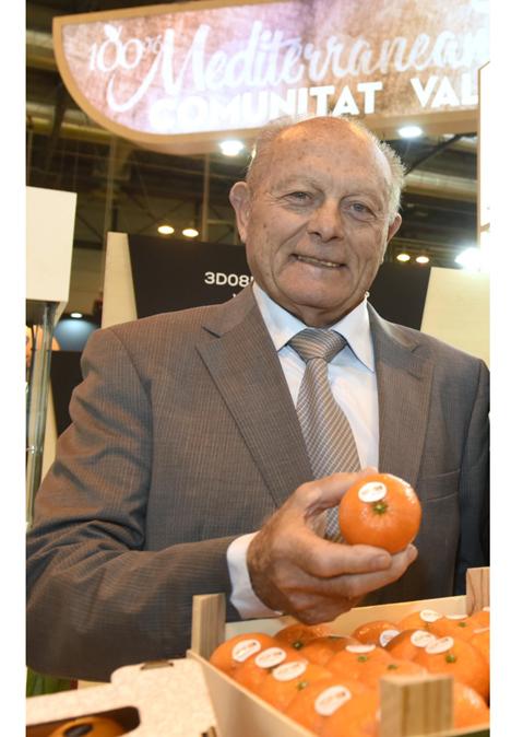 """Jose Barres, Präsident der IGP """"Cítricos Valencianos"""" Foto © Cítricos Valencianos"""