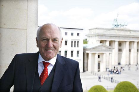 Manfred Nüssel, Präsident des Deutschen Raiffeisenverbandes (DRV) zum Exportgipfel