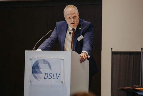 Axel Plaß, DSLV-Präsident. Foto © DSLV
