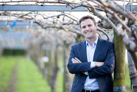 Dan Mathieson zum neuen Hauptgeschäftsführer von Zespri ernannt