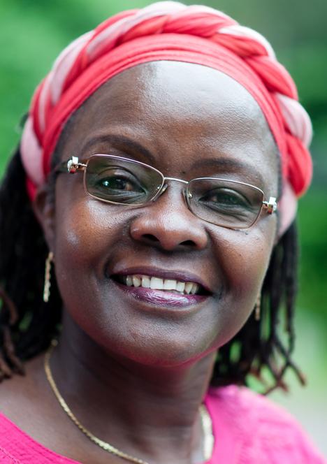 Dr. Jyagoy Nyong'o, globaler Hauptgeschäftsführer (CEO) von Fairtrade International. Foto © Fairtrade International