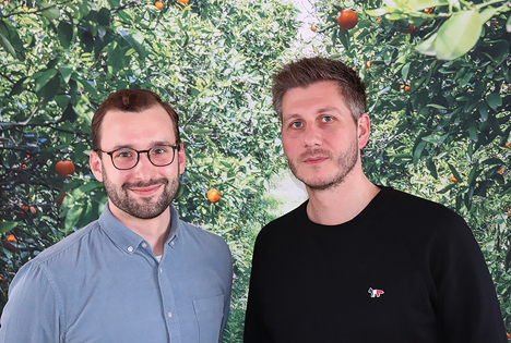 Im Bild links: Benedikt Wetterau / rechts: Florian Walther. Foto © KÖLLA Gruppe