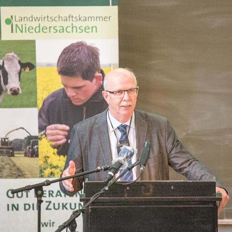 Gerhard Schwetje. Foto © Ziegeler/Landwirtschaftskammer Niedersachsen