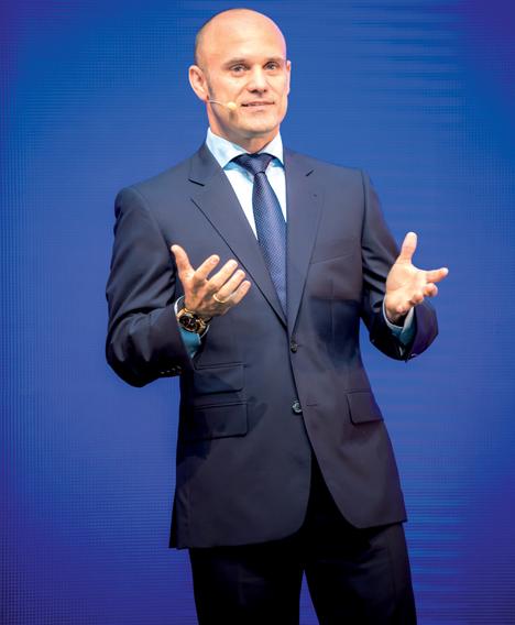 Geschäftsführer Björn Schumacher freut sich über 12 % Umsatzwachstum. Foto © Schumacher Packaging