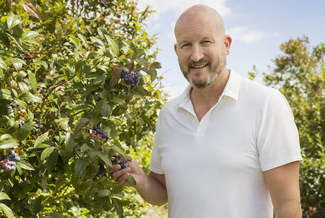 Geoff Furniss is CEO TOMRA Fresh Food. Foto © Tomra Food