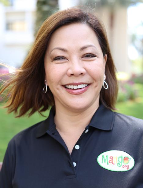 Vorsitzende des National Mango Board, JoJo Shiba. Foto © NMB