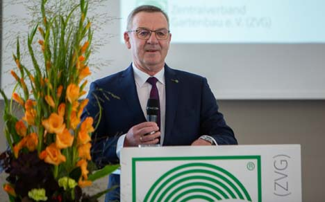 Präsident Mertz Foto © Zentralverband Gartenbau e.V.