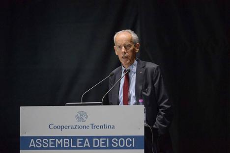 Roberto Simoni Foto © Federazione Trentina della Cooperazione