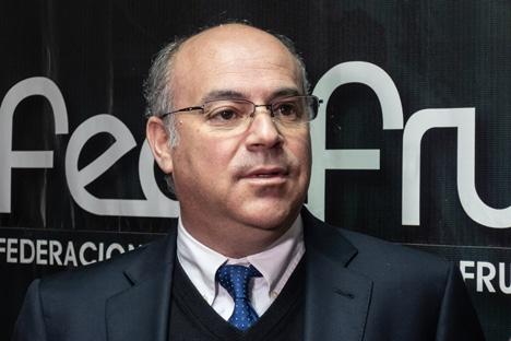 Jorge Valenzuela. Foto © Fedefruta