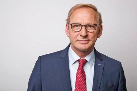 Franz-Josef Holzenkamp, Präsident des Deutschen Raiffeisenverbandes (DRV). Foto © DRV