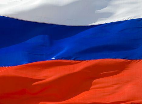 Russland Fahne