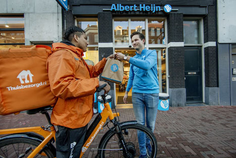 Foto © Ahold / Thuisbezorgd.nl
