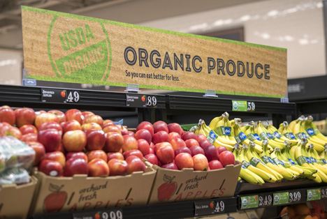 ALDI Organic Produce. Foto © ALDI Inc.