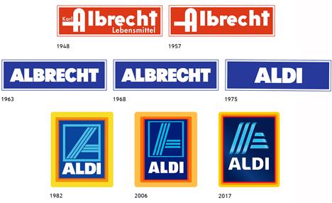 Das bekannte ALDI SÜD Logo bekommt einen neuen Anstrich. Foto © ALDI SÜD