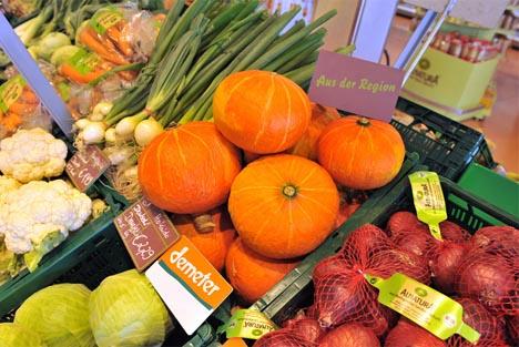 Alnatura: Gemüse aus der Region. Fotograf: Marc Doradzillo