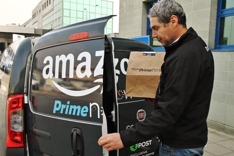 Amazon Prime Now Auto Italien