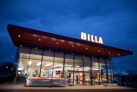 Billa Aussen Oesterreich Quelle Rewe Group