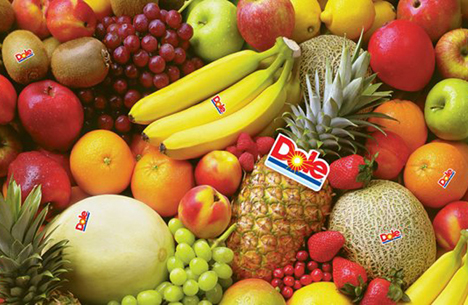Dole fruits © Dole Food  Company