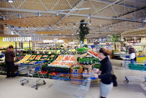 Supermarkt des Jahres 2016 E center Wehrmann Herford. Foto © Edeka