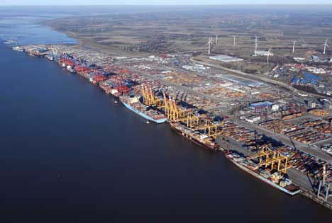 Containerterminals Bremerhaven. Foto © EUROGATE