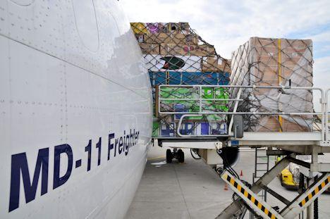 Frachtflugzeug. Quelle © Lufthansa Cargo