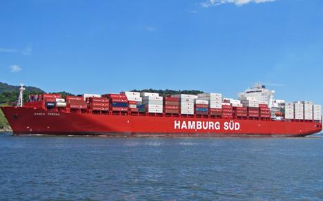 Quelle: Hamburg Süd Group Schiff Santa Teresa