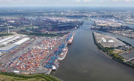 Hamburger Hafen © HHLA_Dominik Reipka