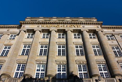 Hapag Lloyd Ballin-Haus Hauptsitz in Hamburg Foto © Hapag-Lloyd