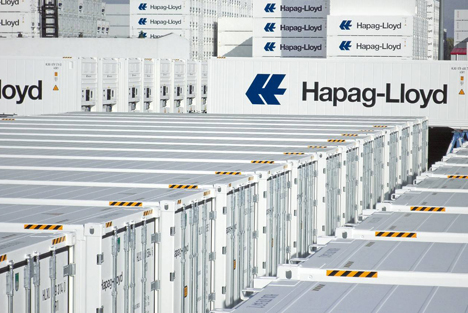Hapag-Lloyd Reefer Container