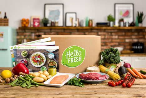 HelloFresh Box 2018 Foto © HelloFresh SE