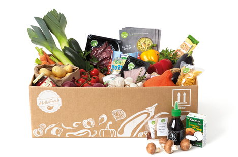 Foto © HelloFresh Box