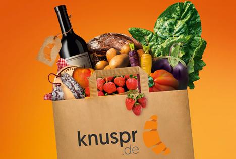 Online-Supermarkt Knuspr. Foto © Knuspr