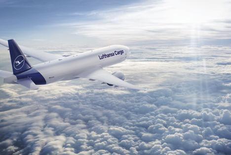 B777F_neue Livery Foto © Lufthansa Cargo AG