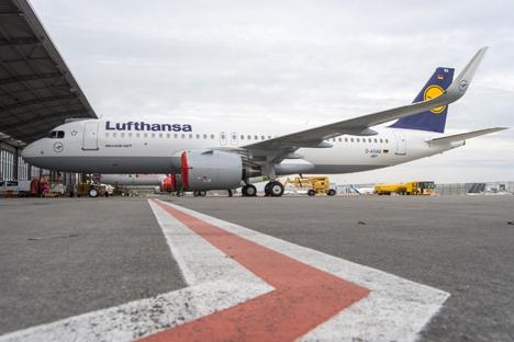 Lufthansa Cargo Airbus A320neo Foto © Lufthansa Cargo