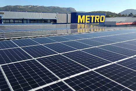 METRO setzt unter anderem auf regenerative Energien. Foto © METRO AG