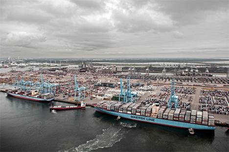 Maersk warnt vor Verschlechterung des globalen Handels
